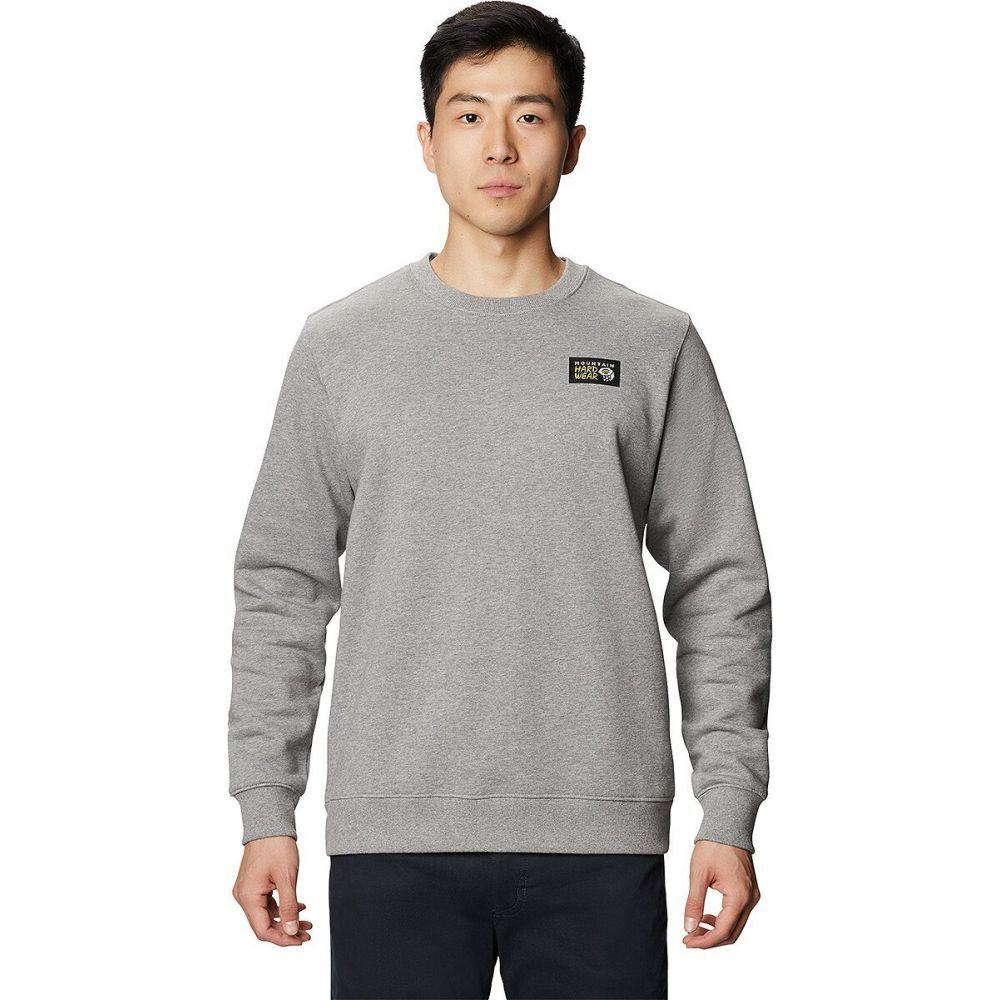 入荷中 マウンテンハードウェア トップス【Classic Mountain Grey Hardwear メンズ スウェット・トレーナー トップス【Classic Logo Crew Crew Neck Sweatshirt】Heather Manta Grey, 光ネット組合:0afc5e9b --- delipanzapatoca.com
