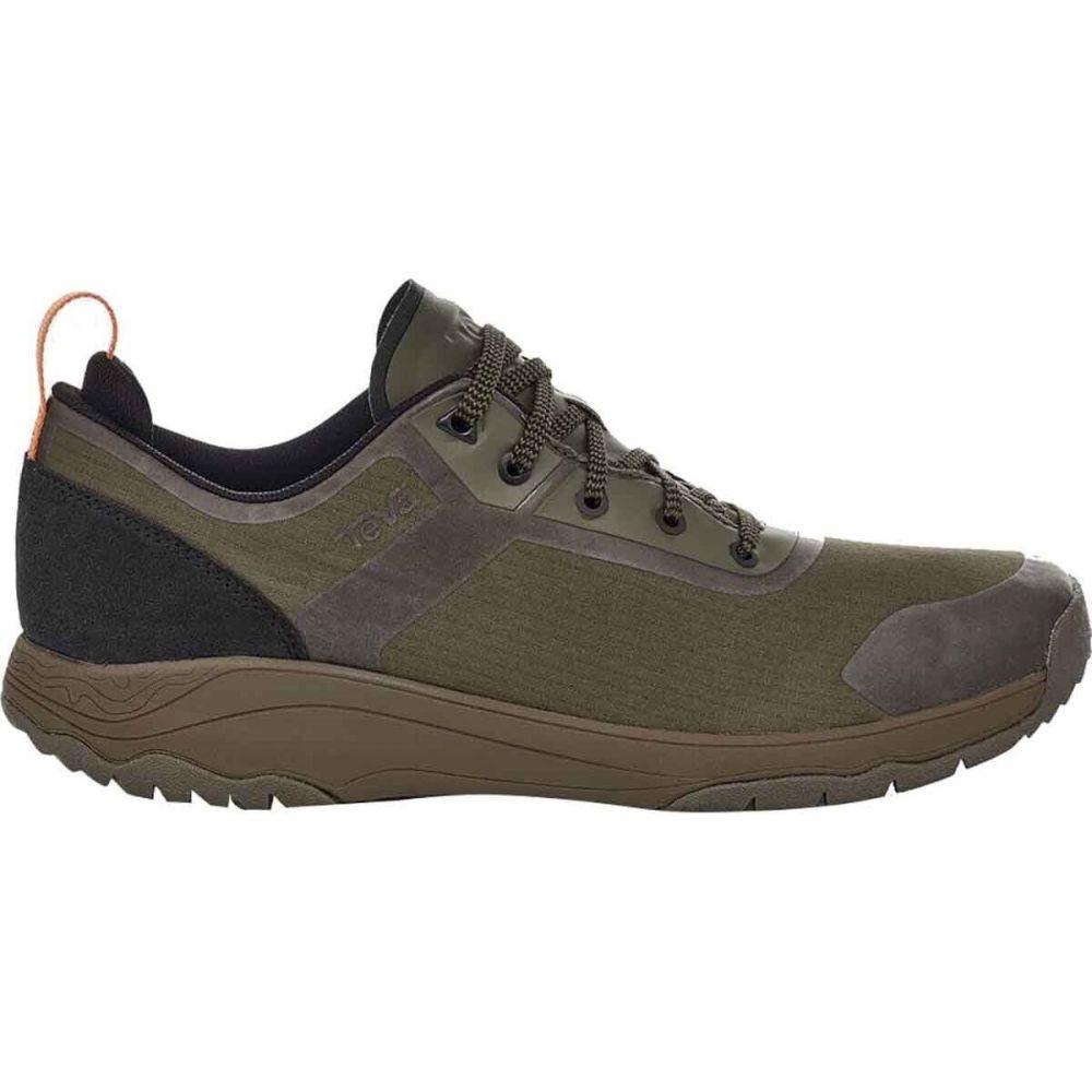 テバ メンズ ハイキング 最新 登山 シューズ 靴 Dark Low 海外並行輸入正規品 Gateway Hiking Olive Teva Shoe サイズ交換無料