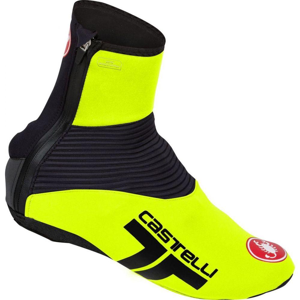 カステリ レディース 自転車 Yellow Fluo Black サイズ交換無料 Narcisista 激安通販専門店 定番 Shoe Castelli 2 シューズカバー Covers