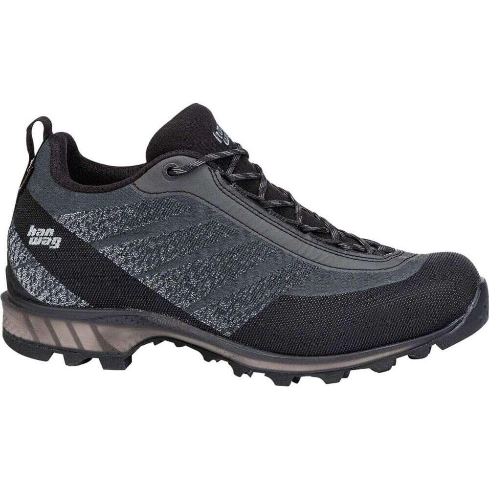 注目の ハンワグ Hanwag メンズ ハイキング・登山 シューズ・靴【Ferrata Light Low GTX Hiking Shoe】Asphalt/Black, ヒルカワムラ 1fa0cd7e
