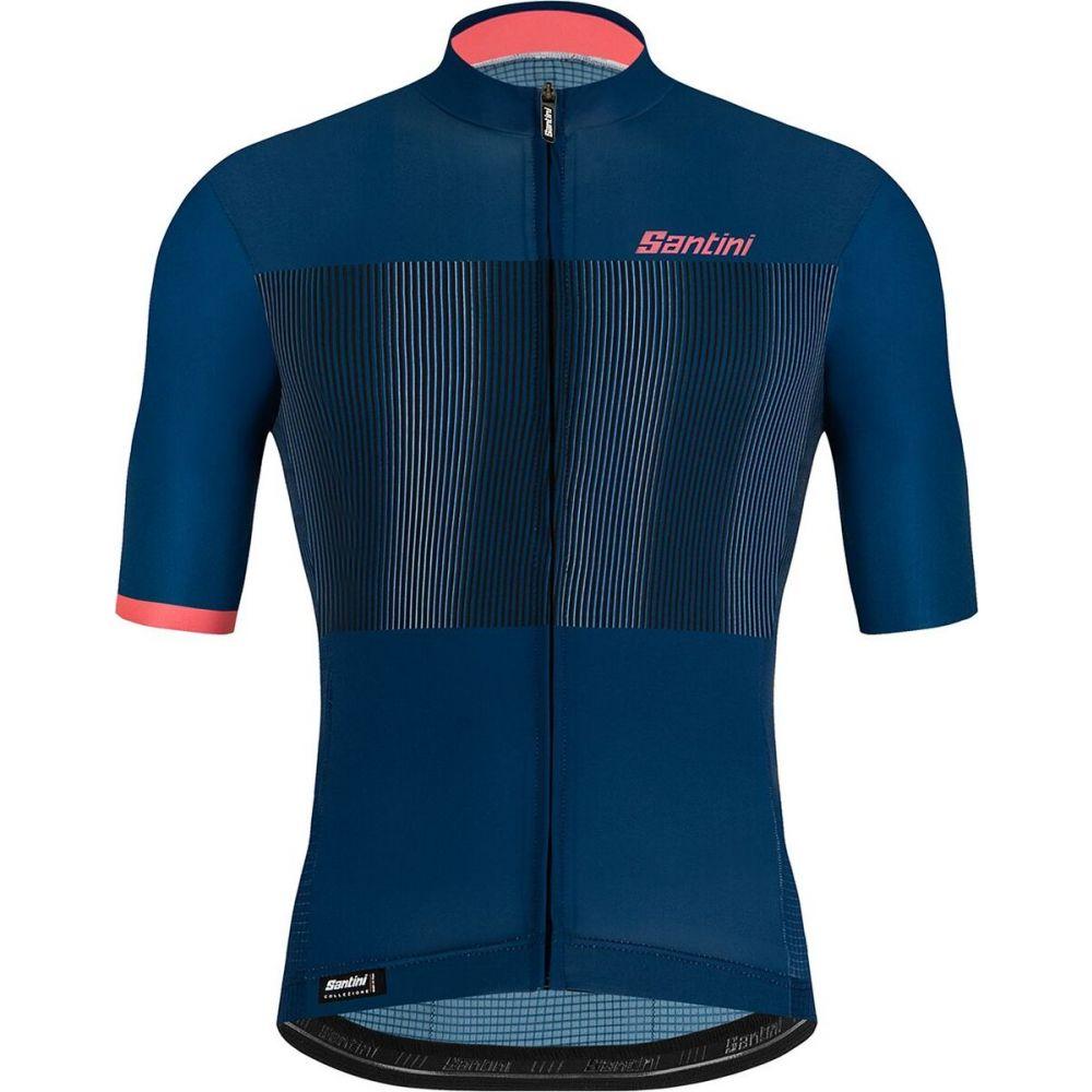 <title>サンティーニ メンズ 自転車 トップス Space Blue 全品最安値に挑戦 サイズ交換無料 Santini Tono Flusso Jersey</title>
