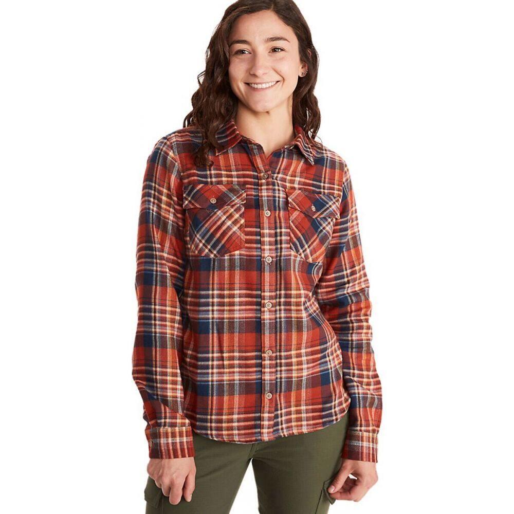 マーモット Marmot レディース ブラウス・シャツ フランネルシャツ トップス【Bridget Midweight Flannel Shirt】Picante