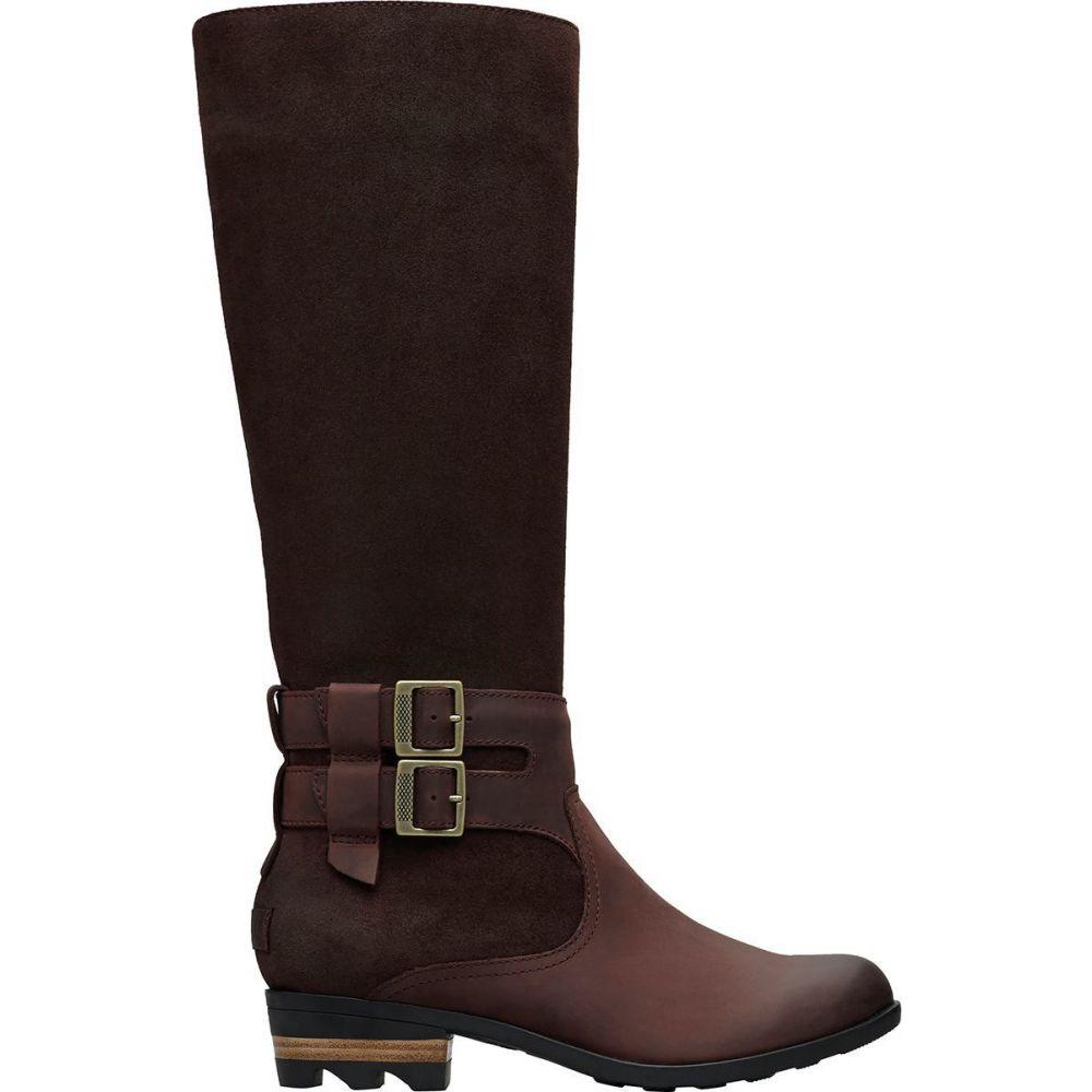 ソレル Sorel レディース ブーツ シューズ・靴【Lolla II Tall Boot】Cattail/Black
