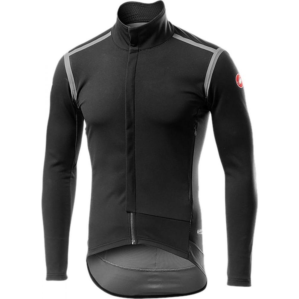 カステリ 待望 メンズ 自転車 トップス Light Black サイズ交換無料 Sleeve Long 流行 Jersey - Perfetto RoS Castelli