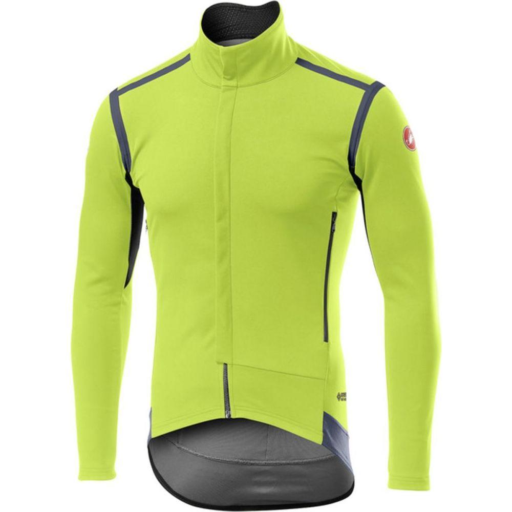 40%OFFの激安セール カステリ メンズ 自転車 トップス Yellow Fluo サイズ交換無料 RoS Sleeve Long Jersey 日本未発売 Castelli Perfetto -
