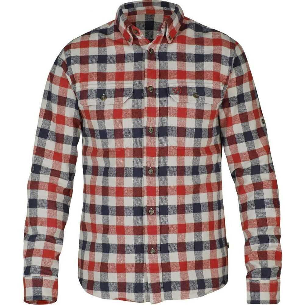 【2021?新作】 フェールラーベン Fjallraven メンズ Fjallraven Shirt】Red メンズ シャツ トップス【Skog Shirt】Red, 高知県:b36a9881 --- coursedive.com