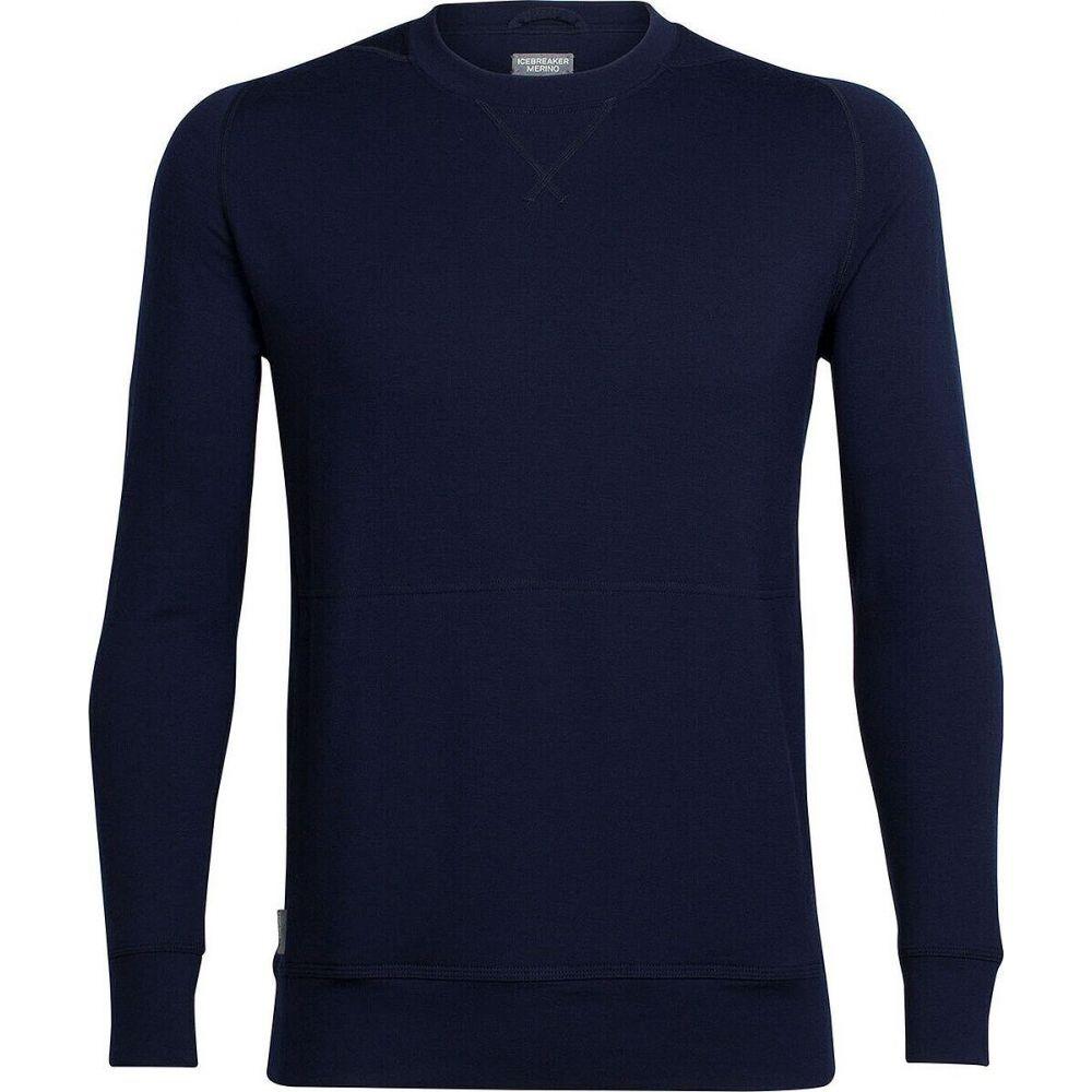 アイスブレーカー 全商品オープニング価格 メンズ トップス ニット セーター Midnight Navy サイズ交換無料 Crewe Sleeve - Sweater Shifter Icebreaker Long 人気の製品