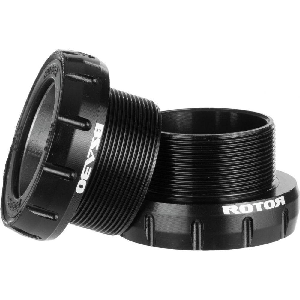 ローター Rotor レディース トライアスロン 【BSA 30 Bottom Bracket】Black