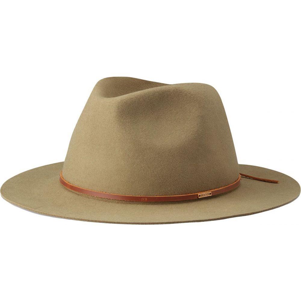 ブリクストン レディース 帽子 ハット Cedar Green Wesley サイズ交換無料 新入荷 流行 Fedora 高級 フェドラ Brixton