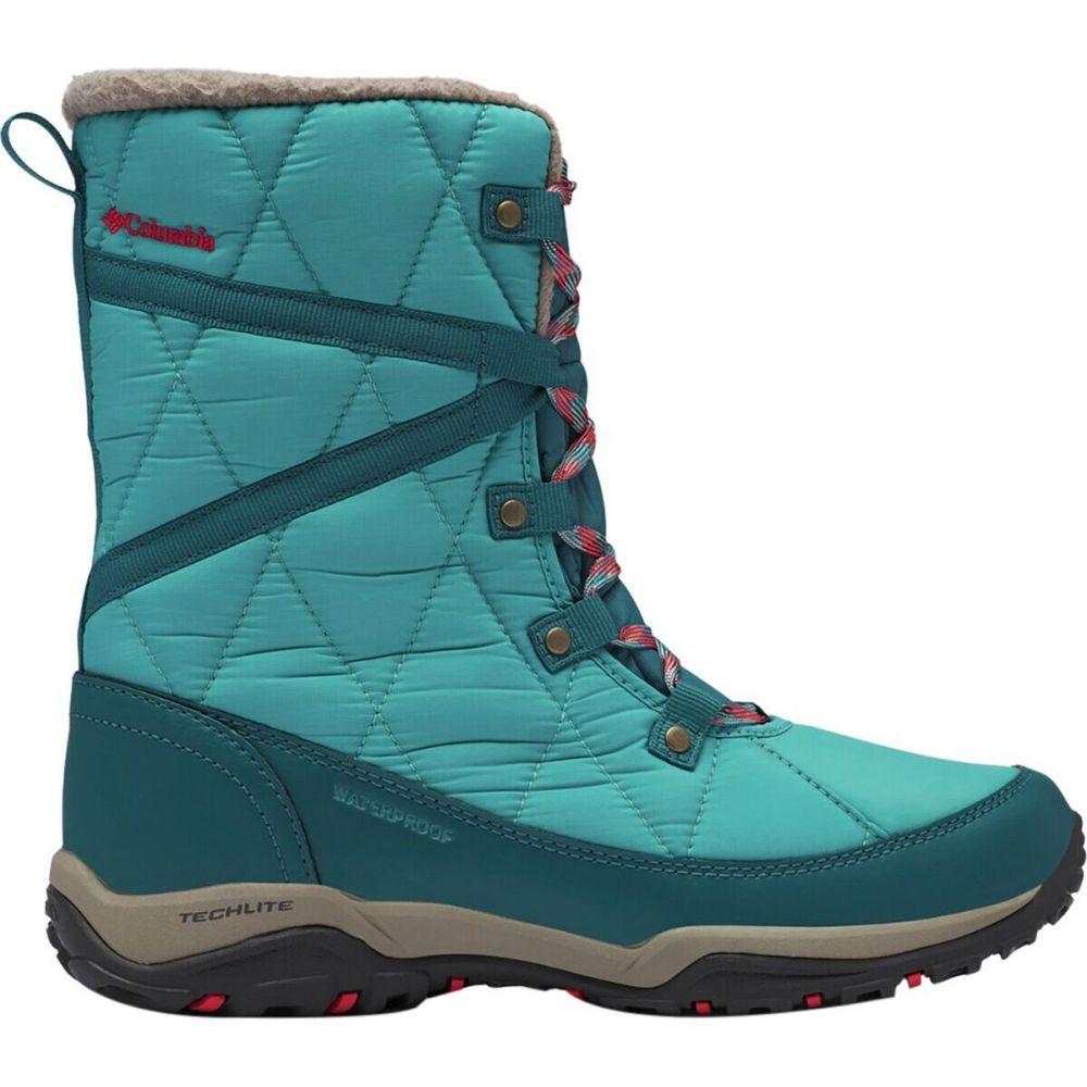 - Heat シューズ・靴【Cascara Omni レディース ブーツ Boot】Teal/Poppy Red Columbia コロンビア