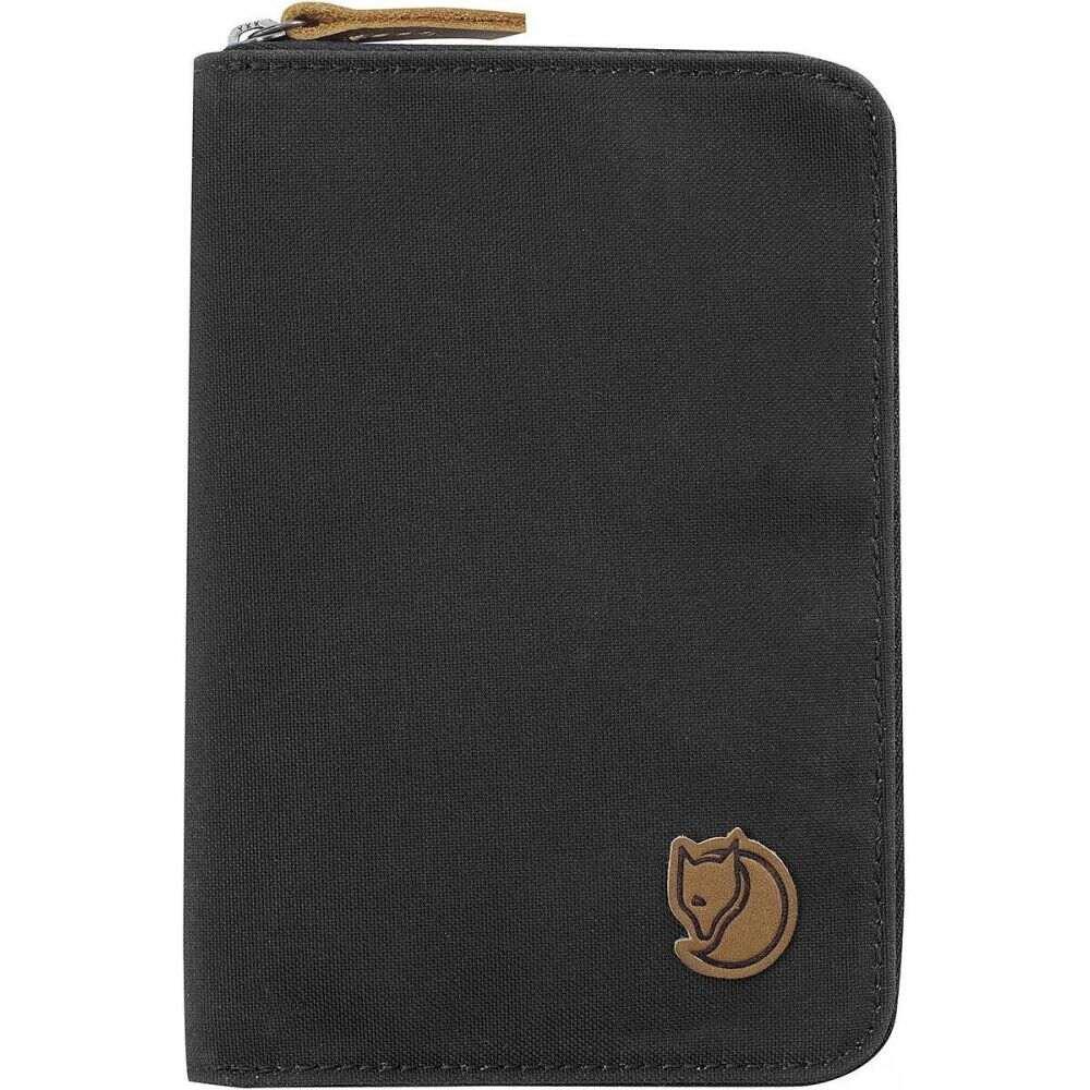 フェールラーベン Fjallraven レディース パスポートケース 【Passport Wallet】Dark Grey