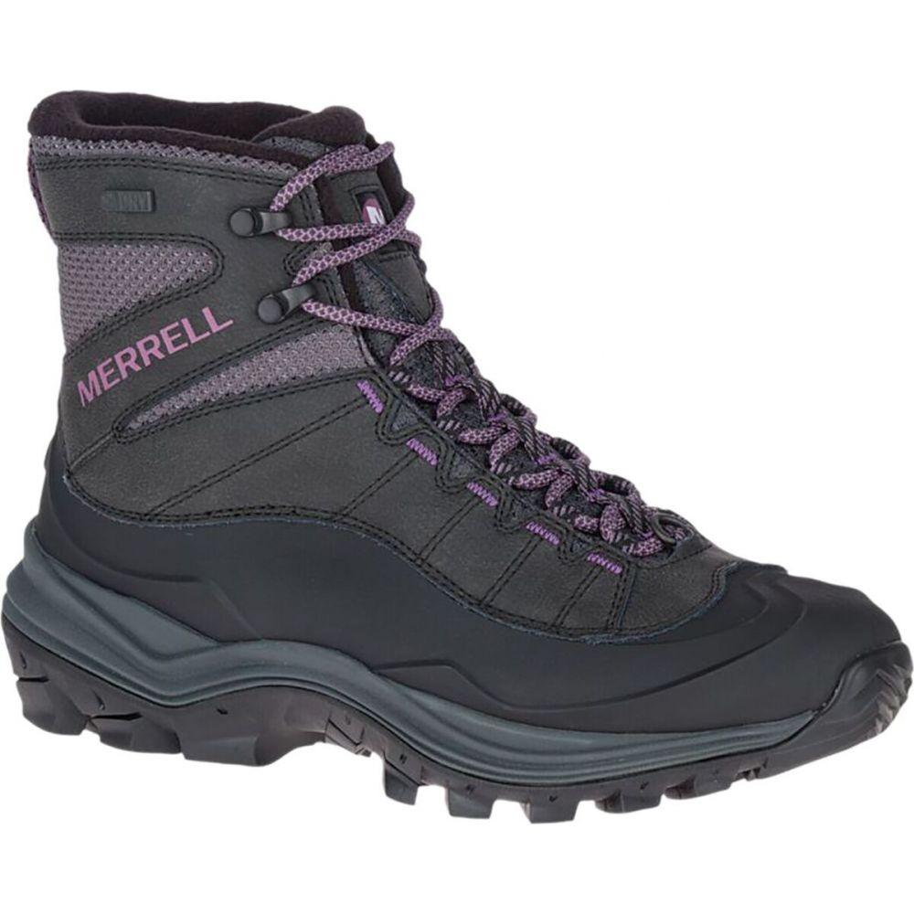 6in Mid シューズ・靴【Thermo Waterproof メレル Merrell ブーツ Boot】Black レディース Chill Shell