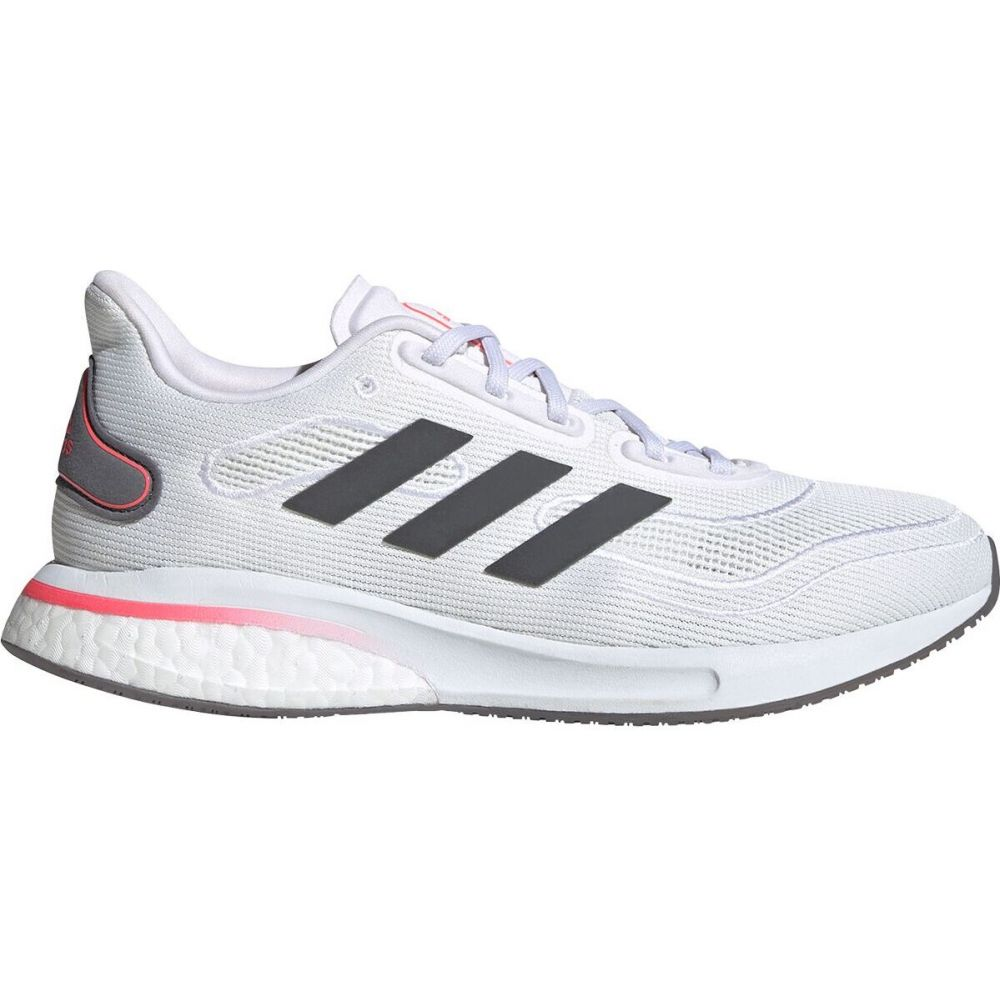 <title>毎日続々入荷 アディダス レディース ランニング ウォーキング シューズ 靴 Ftwr White Grey Five Signal Pink サイズ交換無料 Adidas Supernova Running Shoe</title>