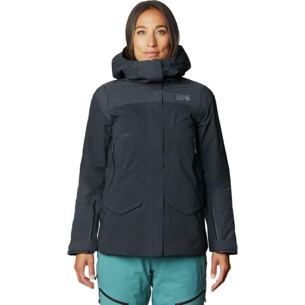 配送員設置送料無料 マウンテンハードウェア レディース スキー スノーボード 通信販売 アウター Dark Storm サイズ交換無料 Hardwear Boundary ジャケット Line GTX Jacket Mountain Insulated