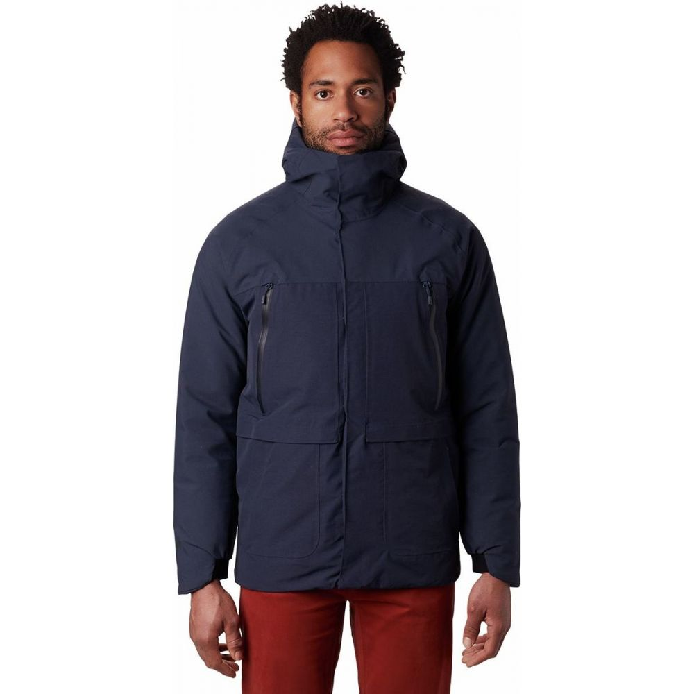 日本最級 マウンテンハードウェア Mountain Hardwear メンズ メンズ ダウン・中綿ジャケット フード アウター【Summit Down フード Shadow GTX Down Hooded Jacket】Dark Zinc, 【保障できる】:e2b2df6a --- rishitms.com