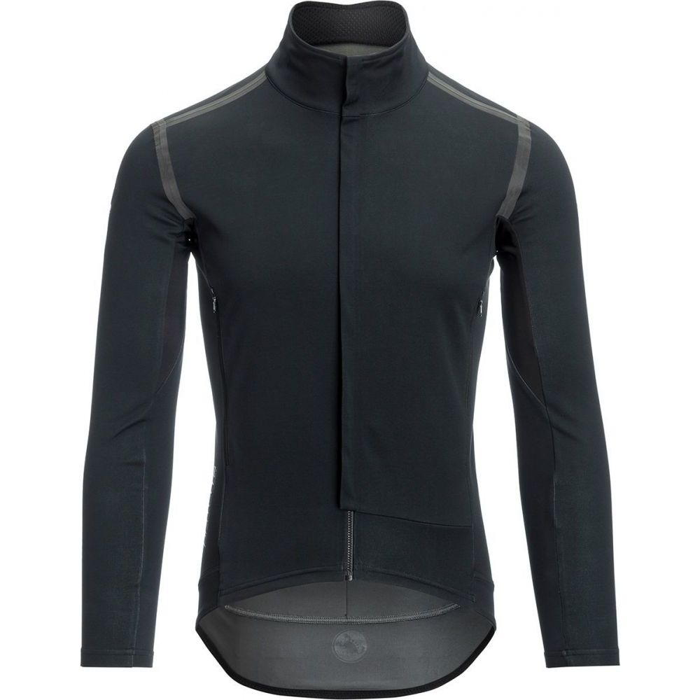 カステリ メンズ 自転車 トップス Light Black Reflex 春の新作シューズ満載 サイズ交換無料 Jersey Castelli Sleeve Out Perfetto 激安通販 - RoS Long