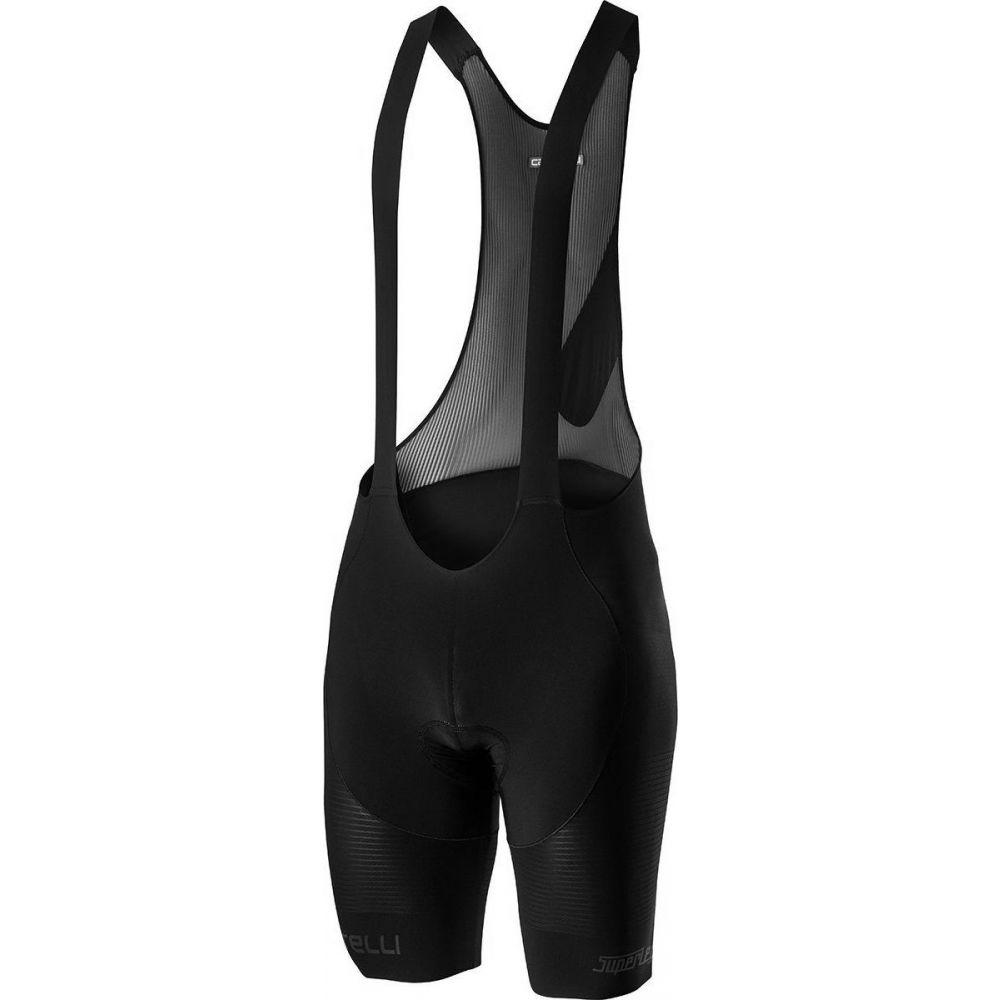 カステリ メンズ 自転車 ボトムス パンツ Black 送料無料(一部地域を除く) サイズ交換無料 ビブパンツ Superleggera ショートパンツ Castelli Short Bib マーケティング