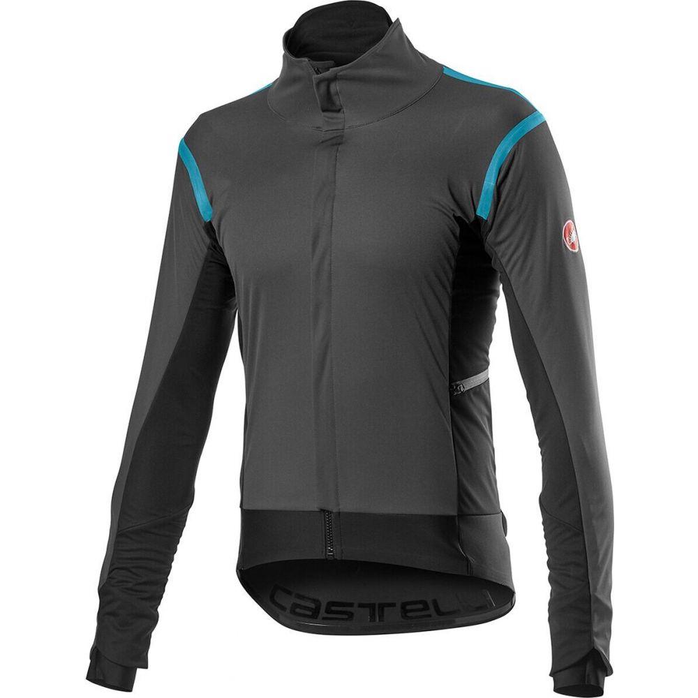 【新発売】 カステリ カステリ Castelli メンズ メンズ 自転車 ジャケット Gray アウター【Alpha RoS 2 Jacket】Dark Gray, ゆみ's キッチン:2ffd4a46 --- mail.analogbeats.com