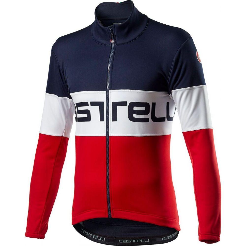 カステリ メンズ 自転車 アウター Savile Blue 大幅値下げランキング White サイズ交換無料 ジャケット Jacket お気に入 Castelli Red Prologo