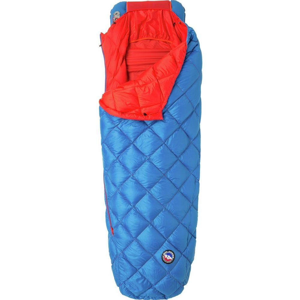 全品送料無料 ビッグアグネス ユニセックス ハイキング 登山 Blue Red サイズ交換無料 Big Agnes Horn 寝袋 45F Sleeping Anvil Down Bag: 販売期間 限定のお得なタイムセール