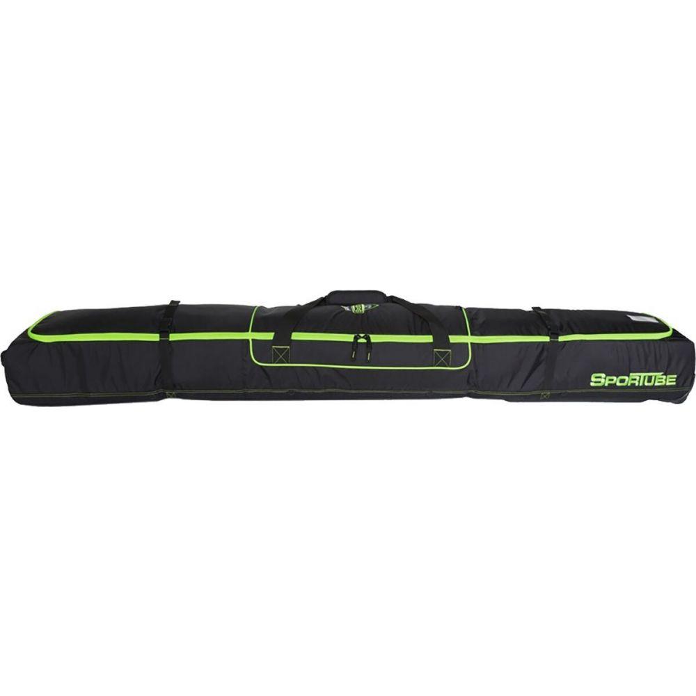 スポーチューブ ユニセックス スキー スノーボード Black Green 激安通販専門店 爆安プライス サイズ交換無料 Sportube Ski Bag Shield バッグ 2