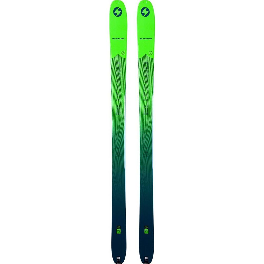 <title>メーカー公式 ブリザード ユニセックス スキー スノーボード ボード 板 Green Blue サイズ交換無料 Blizzard Zero G 95 Alpine Touring Ski - 2021</title>