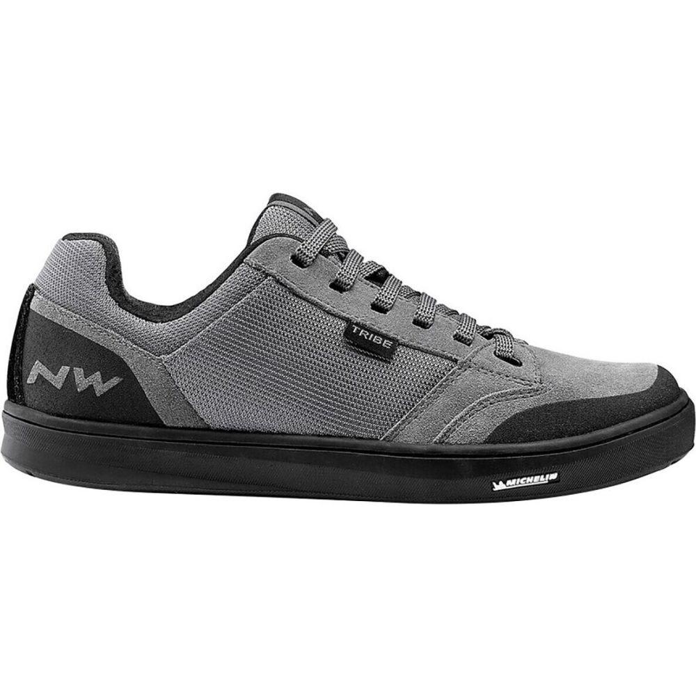 <title>ノースウェーブ メンズ 自転車 シューズ 靴 Grey サイズ交換無料 Northwave Tribe Cycling 美品 Shoe</title>
