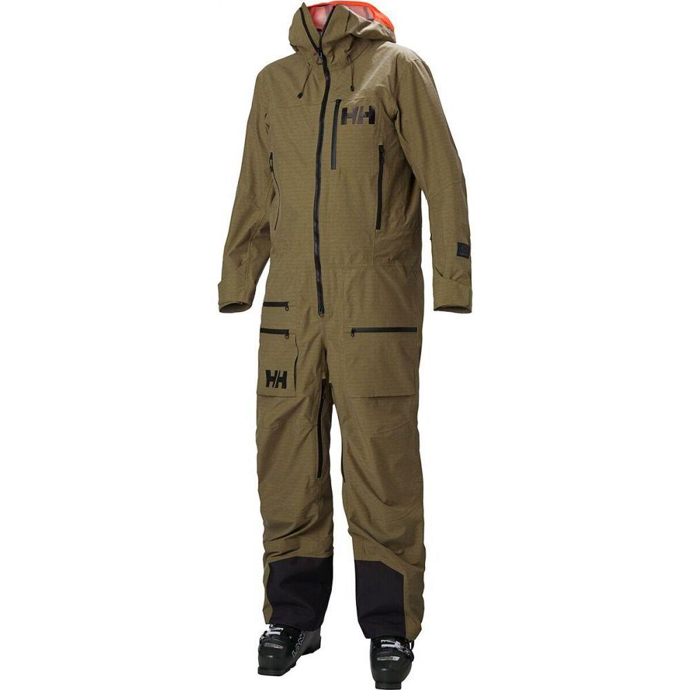 注目ブランド ヘリーハンセン Helly Hansen メンズ スキー・スノーボード ツナギ アウター【Ullr Chugach Powder Suit】Uniform Green, さかなのデパート三栄 32e4b78a
