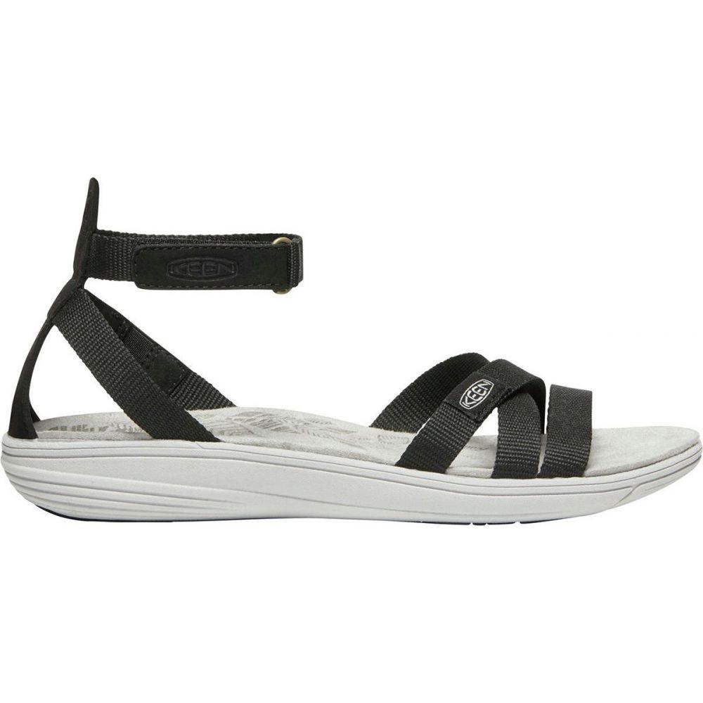 【送料無料/即納】  キーン KEEN レディース サンダル・ミュール シューズ・靴【Damaya Ankle Sandal】Black/Vapor Blue, 新入荷 226b4476