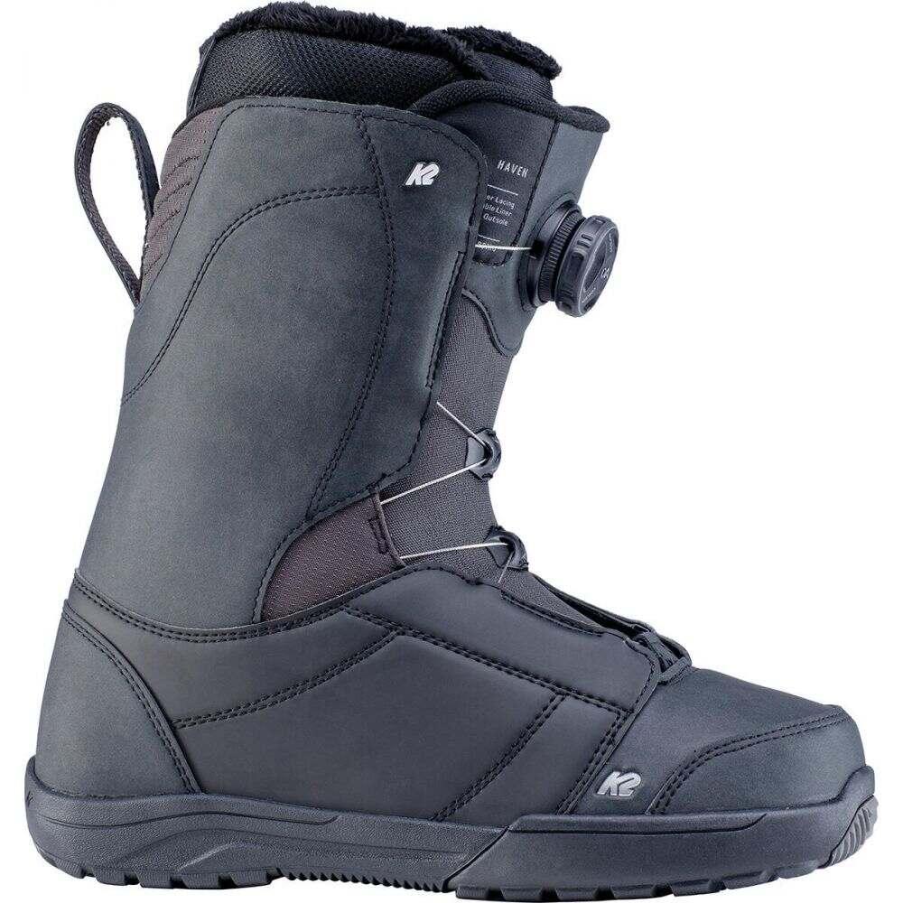 ケーツー レディース スキー スノーボード シューズ 靴 Black Boa サイズ交換無料 セットアップ ブーツ K2 Snowboard 春の新作続々 Boot Haven
