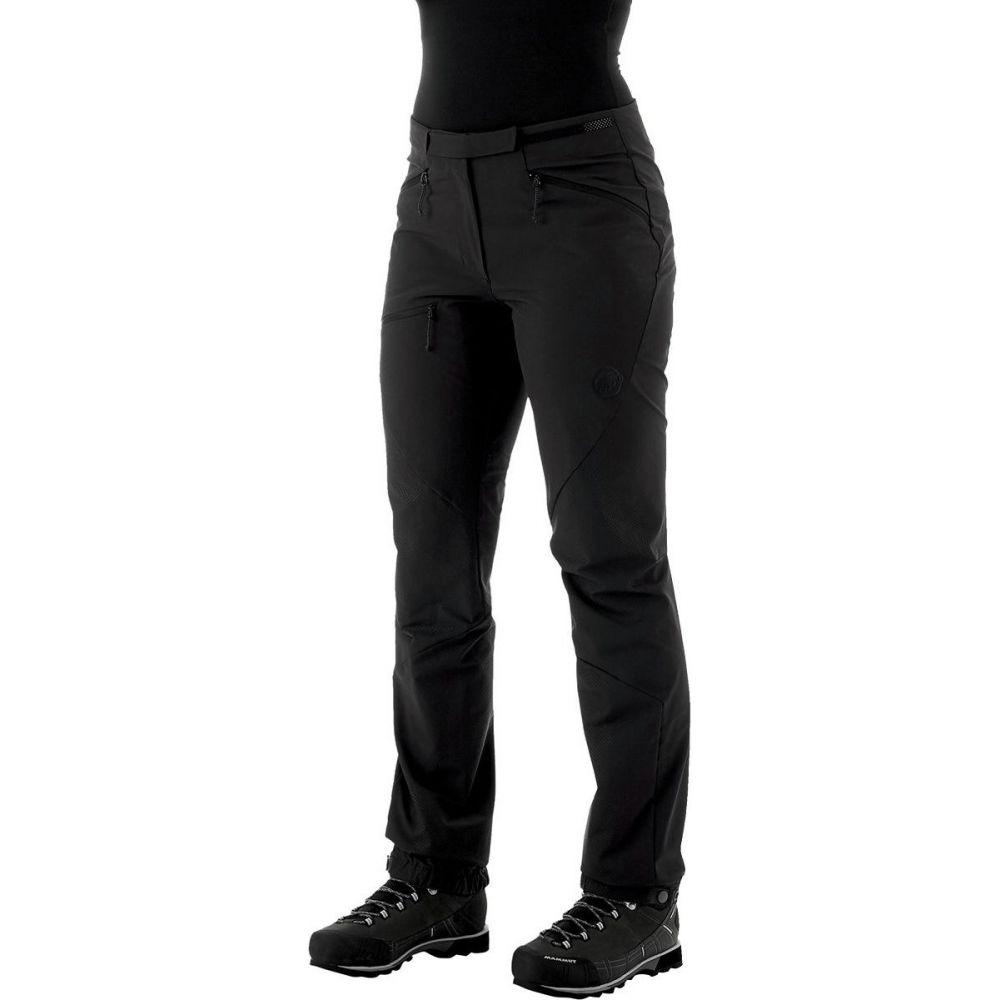 マムート レディース 新作販売 ハイキング 登山 ボトムス 毎日続々入荷 パンツ SO Black Pant Mammut サイズ交換無料 Courmayeur