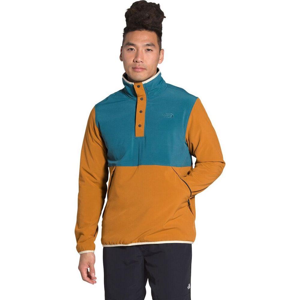 品質検査済 ザ ノースフェイス メンズ トップス スウェット トレーナー Mallard Blue Timber The 年間定番 Tan Face サイズ交換無料 Sweatshirt North Pullover Mountain