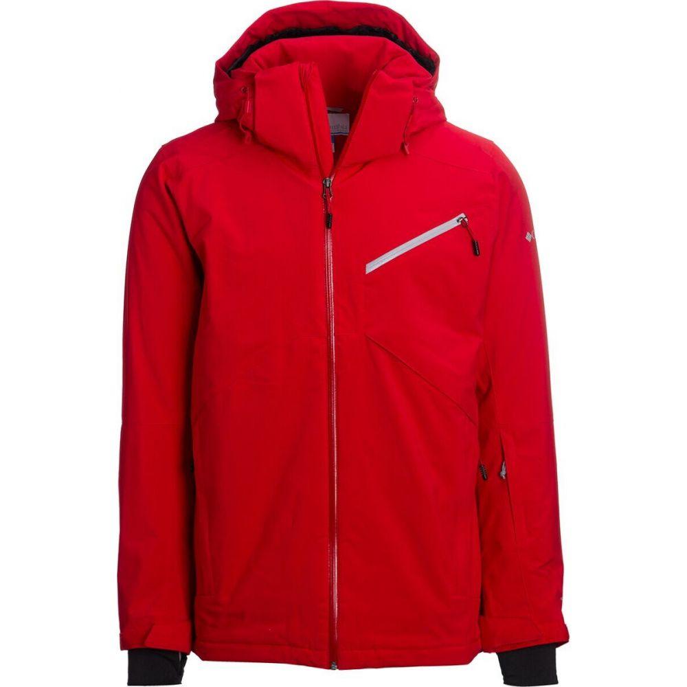 コロンビア メンズ スキー 日本産 スノーボード アウター 最安値挑戦 Mountain Red Columbia ジャケット サイズ交換無料 Powder 8's Jacket