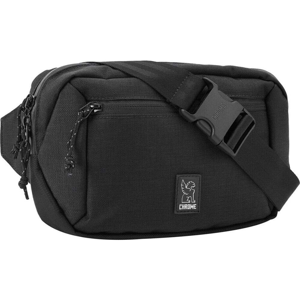 クローム インダストリーズ ユニセックス 自転車 Black Waistpack ウエストバッグ サイズ交換無料 供え 毎日続々入荷 Chrome Ziptop