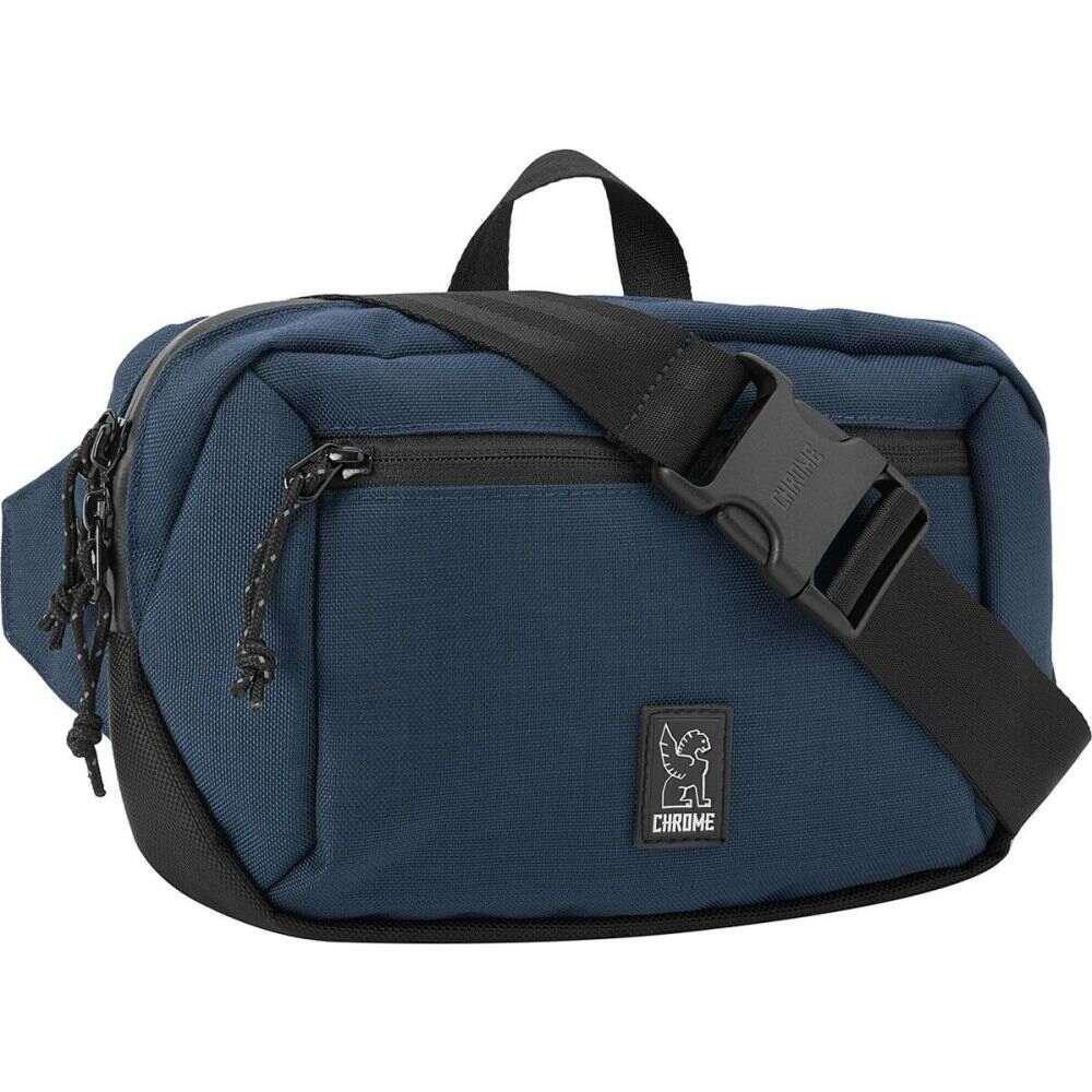 クローム インダストリーズ ユニセックス ギフト プレゼント ご褒美 スーパーセール期間限定 自転車 Navy Blue Waistpack Ziptop ウエストバッグ Tonal サイズ交換無料 Chrome