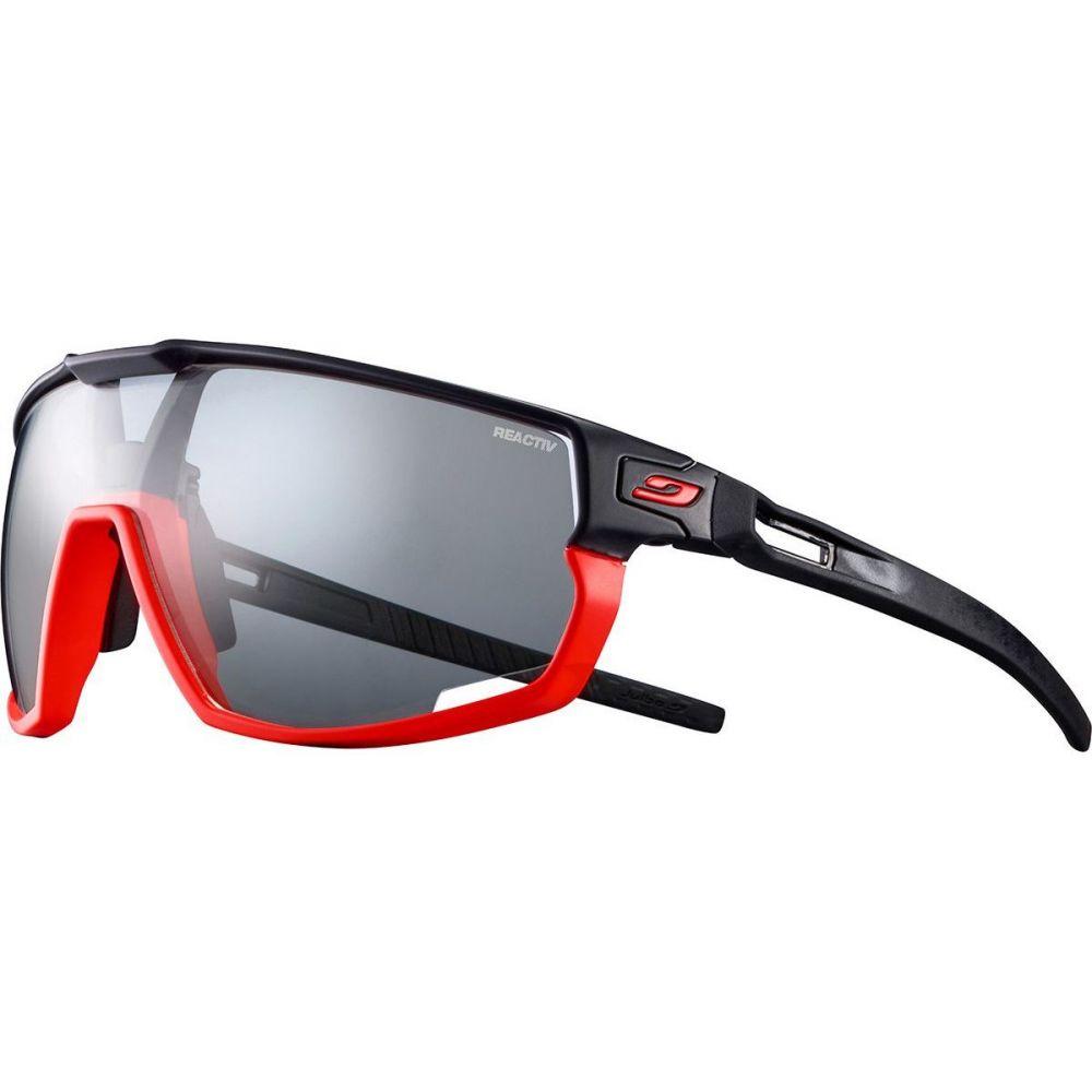 ジュルボ ユニセックス ファッション小物 新品未使用正規品 スポーツサングラス Orange SALENEW大人気! Black サイズ交換無料 Rush Julbo REACTIV Performance Photochromic Sunglasses