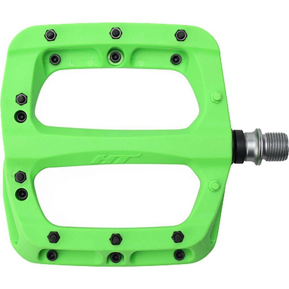 エイチティーコンポネンツ ユニセックス 自転車 Green 本日の目玉 サイズ交換無料 Components PA03A HT ペダル 格安 価格でご提供いたします Pedals