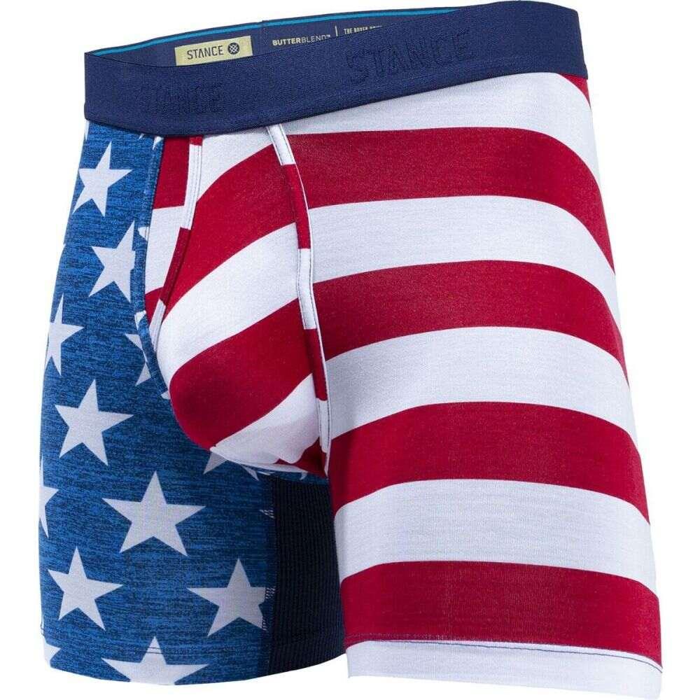 スタンス メンズ インナー 下着 ボクサーパンツ Blue 大注目 サイズ交換無料 Stance Staple Blend Butter Wholester Underwear 定価の67%OFF 6in