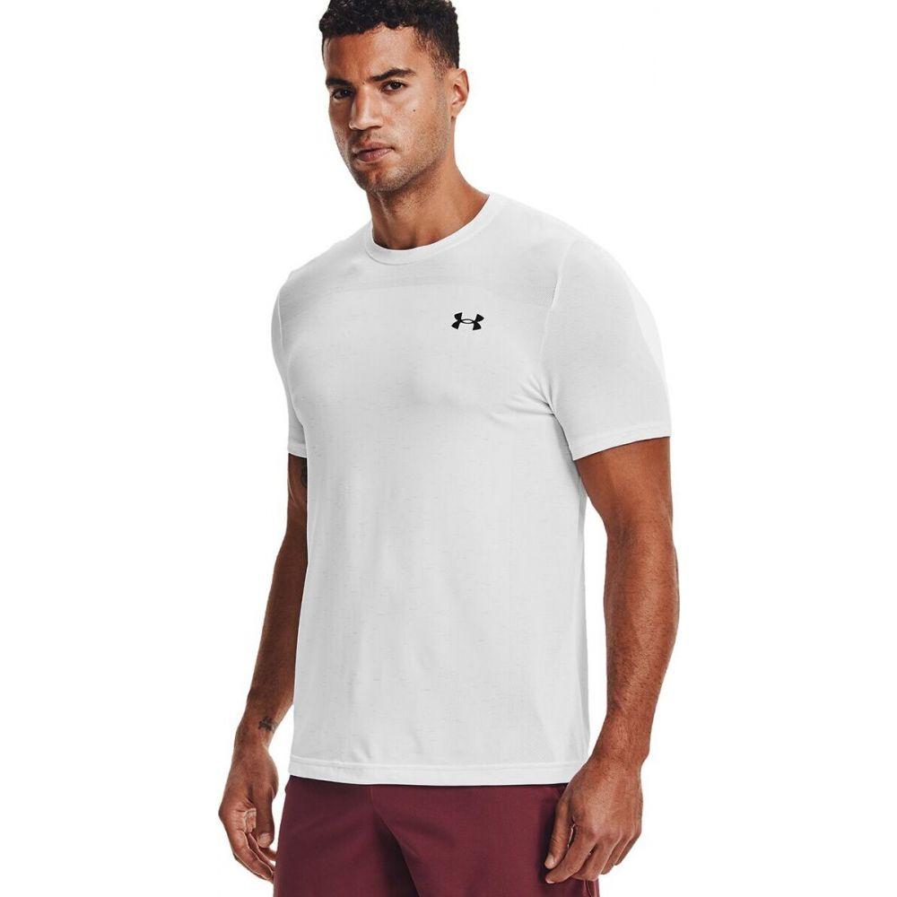 アンダーアーマー メンズ ハイキング 登山 トップス White 大放出セール Black サイズ交換無料 Seamless Short - Armour Under Sleeve Shirt 中古