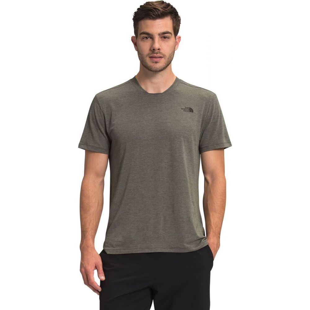 ザ ノースフェイス メンズ ハイキング 登山 トップス New Taupe Green Heather Sleeve The Wander Short Shirt サイズ交換無料 - 春の新作続々 North Face 公式通販