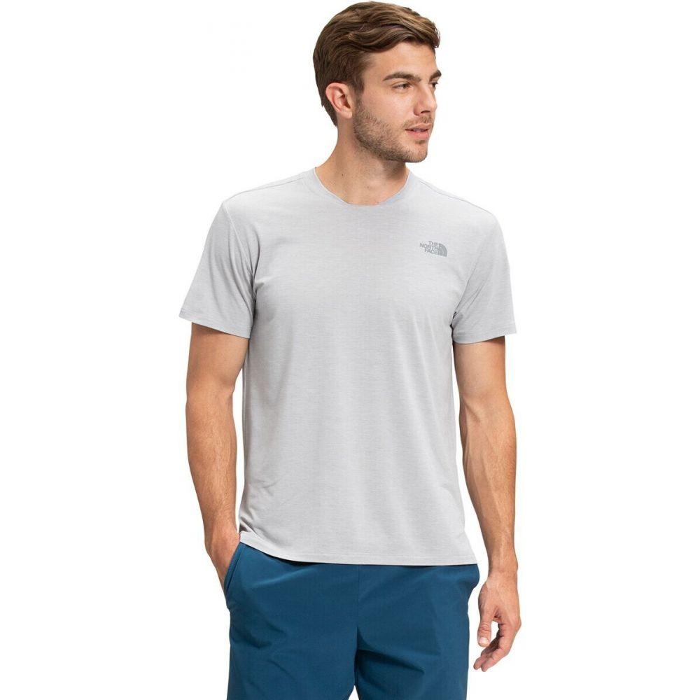 ザ ノースフェイス メンズ ハイキング 登山 トップス TNF Light Grey Heather Sleeve Shirt - サイズ交換無料 Short North Wander ギフ_包装 オンライン限定商品 Face The