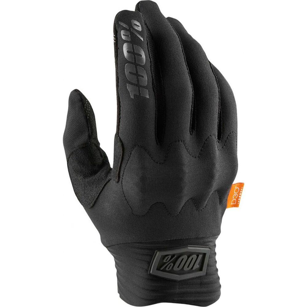 ヒャクパーセント メンズ 自転車 グローブ Black Charcoal 低廉 Glove サイズ交換無料 D30 1 ショップ Cognito
