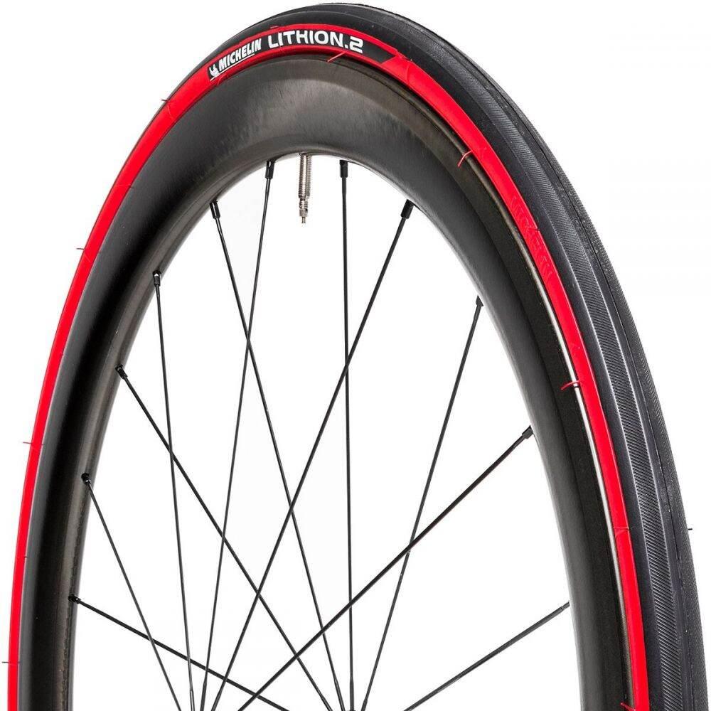ミシュラン ユニセックス 自転車 Black Red サイズ交換無料 卓越 Michelin - 2 Clincher Tire 店 Lithion