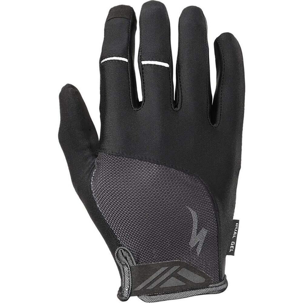 スペシャライズド 全国どこでも送料無料 ユニセックス 自転車 グローブ Black サイズ交換無料 Specialized Body 35%OFF Dual Long Finger Geometry Glove - Gel