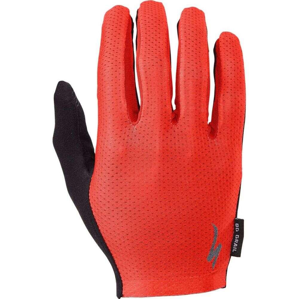 スペシャライズド ユニセックス 自転車 グローブ Red 予約 サイズ交換無料 Specialized Grail Finger Body Glove 新生活 Long Geometry