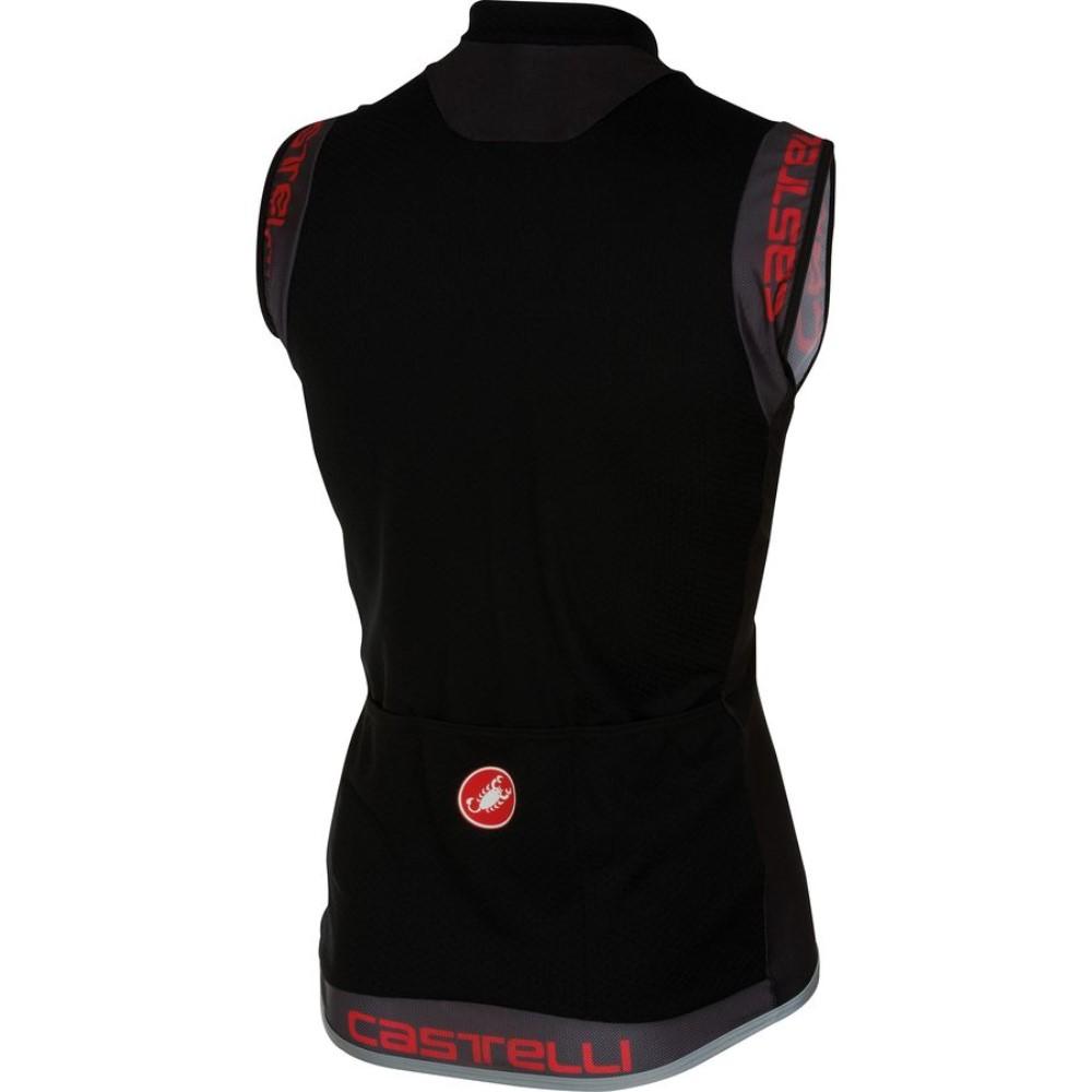 カステリ Castelli メンズ サイクリング ウェア【Entrata 2 Full-Zip Jersey】Black