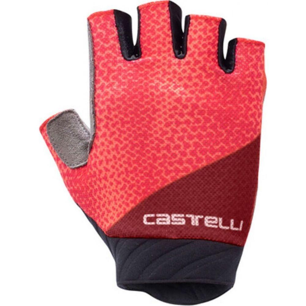 カステリ レディース 祝日 自転車 グローブ Brilliant 大特価!! Pink サイズ交換無料 Roubaix Gel Glove 2 Castelli