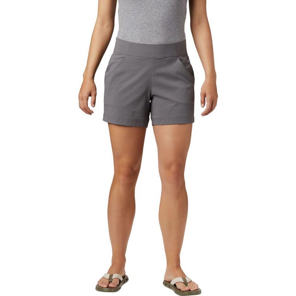 舗 コロンビア レディース ハイキング 登山 ボトムス 新着 パンツ City Columbia Casual Short ショートパンツ サイズ交換無料 Anytime Grey