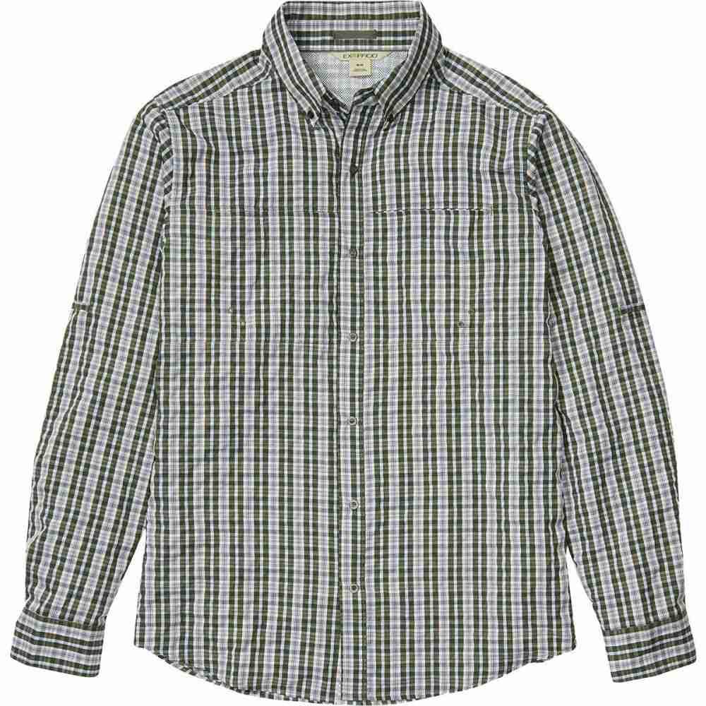 エクスオフィシオ ExOfficio メンズ 釣り・フィッシング トップス【Sailfish Long - Sleeve Shirt】Nori