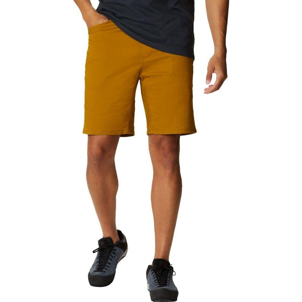 マウンテンハードウェア Mountain Hardwear メンズ ハイキング・登山 ショートパンツ ボトムス・パンツ【Cederberg Pull - On Short】Olive Gold